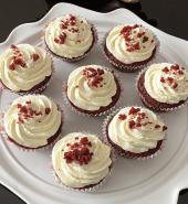 Red Velvet Cup Cake -6Pcs